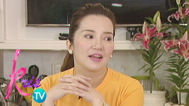 Kris Aquino shares that she got a red mark on her Filipino subject during her school days.