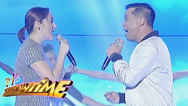 OPM Icons Jessa Zaragoza, Dingdong Avanzado sing their hits on It's   Showtime
