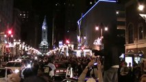 Obama Wins, Makes History - Spontaneous Election Night Philly Celebration