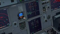 FSX - Aerosoft Airbus A320 easyJet evening departure from