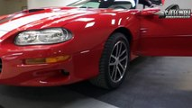 2002 Chevrolet Camaro SS Z28 for sale at Gateway Classic Cars in St. Louis, MO