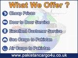 Send Cheap Cargo from Bradford to Pakistan, Door To Door