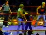 The Freebirds vs The Von Erichs Badstreet Match (7-4-1984)