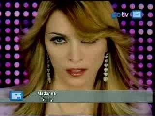 Madonna - Sorry - clip vidéo