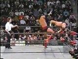Scott Hall - Outsiders Edge on WCW referee (HQ)