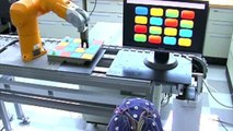 P300 based Brain-computer interface controlling a robotic arm