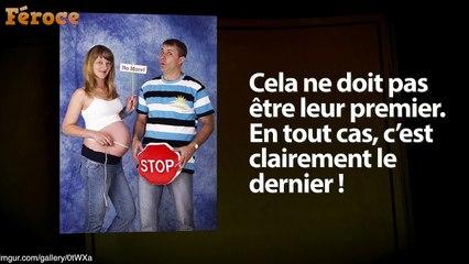 Photos de grossesse timbrées