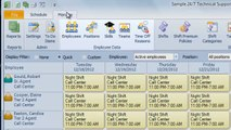 Snap Schedule Employee Scheduling Software Video - Maintaining Complete Employee Data