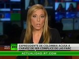 Uribe contra Chávez... y contra Colombia