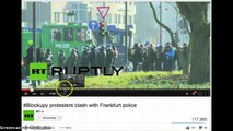 Blockupy Protests Agent Provocateurs
