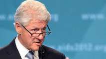 Bill Clinton addresses International AIDS Conference