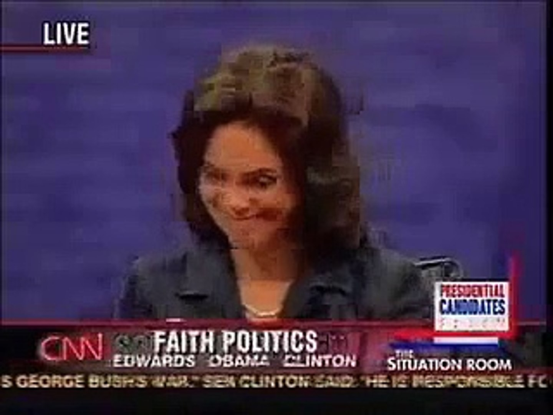Barack on Faith and Politics