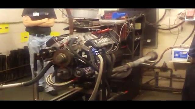nascar tech – nascar chevy engine on dyno