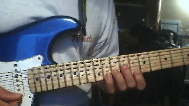 Eugene's bag of tricks Dave Helle easy style lesson for beginners how to play guitar using sweeps
