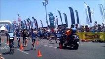 Ironman Nice 2015  winner Boris Stein GER 2nd Morales ESP 3rd Guillaume France