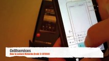 How to Unlock Motorola Droid 3 (XT862) from Verizon (GSM) by Unlock