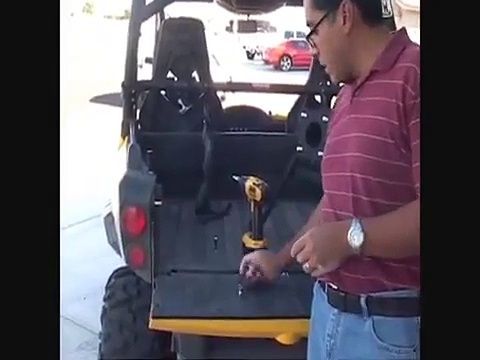 Turnkey UTV Spare Tire Carrier Can Am Commander