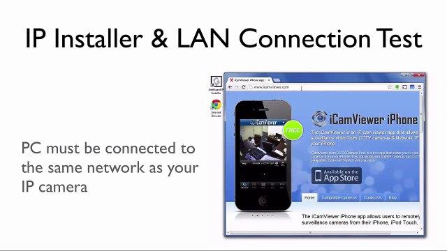 iCamViewer IP Camera Viewer iPhone App Remote Internet View Setup
