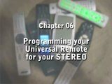 How to Program a Universal Remote Control : Universal Remote Programming for Stereo