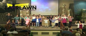 "Children's Church Performing to ""God's Not Dead""  Abby East performing dance to ""Overwhelmed"""