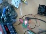 Éclairage automatique avec détecteur de mouvement (celui de la sourie du PC )