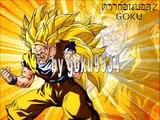Goku , vegeta , gogeta , goten , trunks , gotenks and Gohan all forms of super saiyan