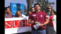 In Los Angeles, Kaiser workers announce NUHW majority