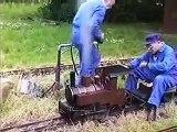 Modélisme train vapeur vive