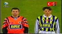 1998 Atatürk Kupası - Fenerbahçe 2-0 Beşiktaş (Goller & Tören)