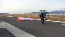 World's Simplest Paramotor Aircraft!! Powered Paragliding Setup Fly And Pack Up In 3:16!!!