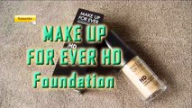 MAKE UP FOR EVER HD Foundation MUFE REVIEW 2015