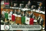 Aprobado en lo general el dictamen de Reforma Energética en el Senado pt 2
