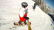 Colorado Ski Resorts finally get much needed snow! - Aspen Mountain 1.8.2012
