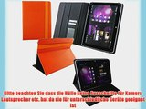 Emartbuy? Orange 2 in 1 Eingabestift   Universalbereich Orange 3D Cube Multi Winkel Folio Executive