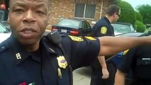 Police Officer Lies and Threatens Man Video Recording Cops