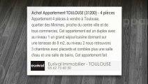 A vendre - Appartement - TOULOUSE (31200) - 4 pièces