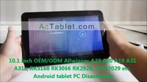 """10.1"""" Allwinner A23/A20 RK3168 Tablet Disassembly: LCD Touch Screen Replacement"""