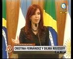 Visión Siete: Cristina Fernández y Dilma Rousseff en la Celac