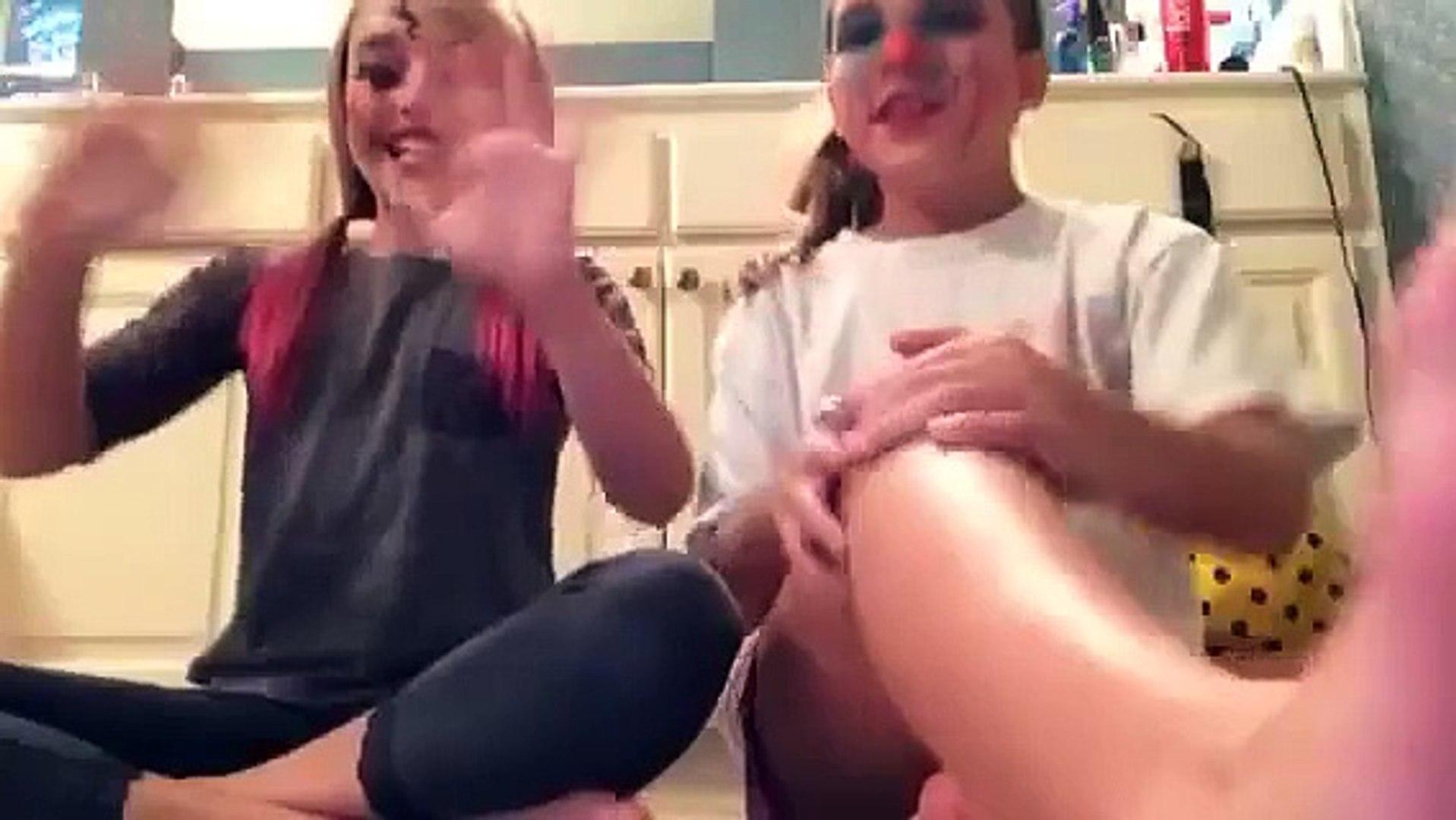 Doll and crazy makeup \w Brooklynn