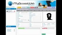MyAccessWeb  Gestion de salle de sport, fitness - Saisie d'un client