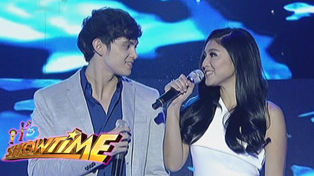 "James Reid and Nadine Lustre perform ""On The Wings Of Love"" on It's   Showtime"