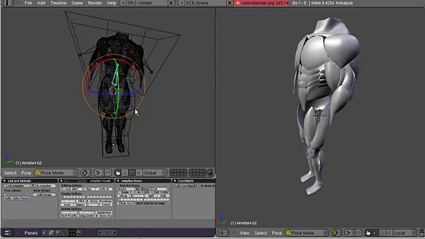 blender 3d test 3d mesh deform tool