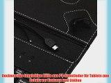 iRulu Klappschutzh?lle f?r Android-Tablets Kunstleder mit Tastatur schwarz 254 cm (10 Zoll)
