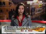 """Fujimontesinistas frente de Palacio de Justicia piden """"justicia"""" (La Ventana Indiscreta 27-09-2007)"""