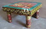 Furniture Wooden Hand Painted Range Furniture Indian Furniture Manufacturer & Exporter