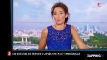 France 2 pointée du doigt pour un faux témoignage dans son JT de 13h : La chaîne présente ses excuses