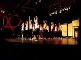 Hip-Hop Tanz Hip hop dance show of FFG (am Bunten Abend)