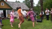 dance polka children. Stock Footage