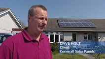 Dave was impressed by Cornwall Solar Panel's approach to selling