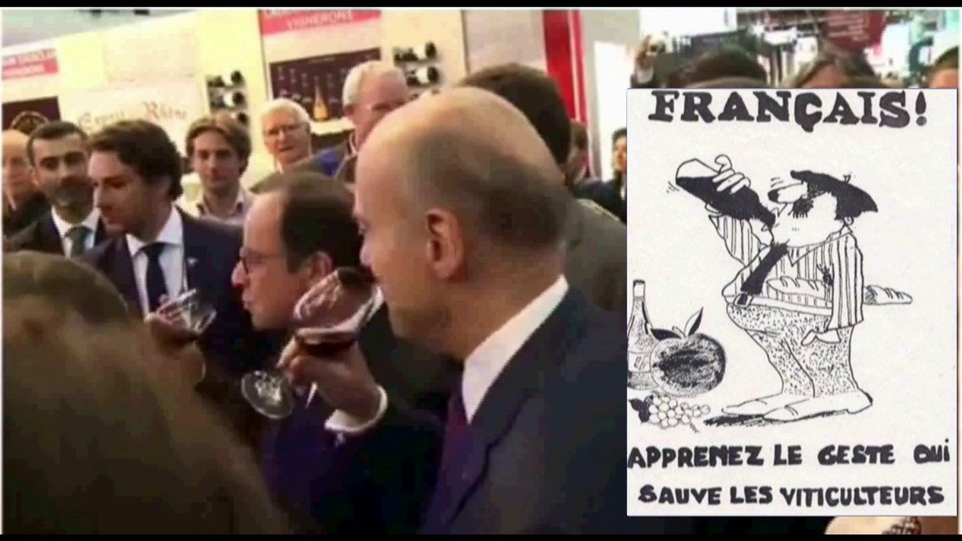 Les Présidents boivent - Les Français trinquent !